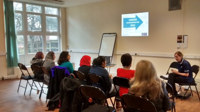 Cancer Awareness Session - Cancer Research UK