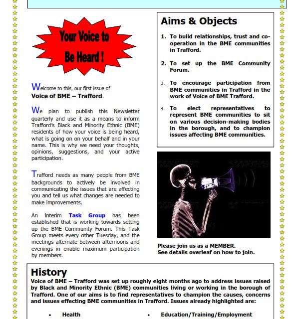 Newsletter 1 Revised